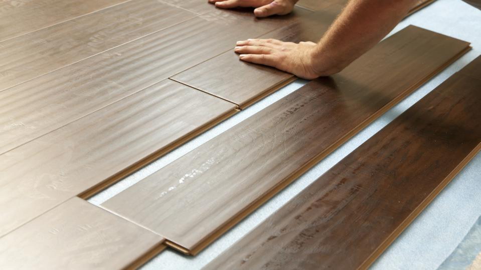 eco-friendly installation of flooring